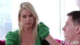 Blonde Mom'_s Never Stayed Faithful To Dad- Kit Mercer