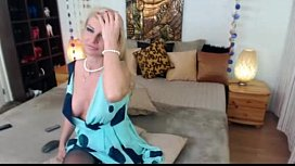 Sexy Blonde Milf on Webcam See more at faporncom