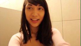 Sexy Asian Masturbates and Squirts in Bathroom - see more at Bnongacams.com