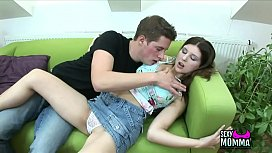 SexyMomma.com-Horny Chica amateur loves get huge hard on in head till yoghurt