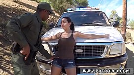 Police po ar first time Latina Babe Fucked By the Law