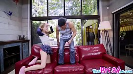 Lilly Fords teen pussy screwed doggystyle