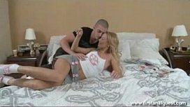 FirstAnalQuest.com - BLONDE ANAL PORN WITH BIG COCK DOGGYSTYLE ASS FUCKING