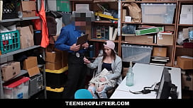 Tiny Teen Hayden Caught Shoplifting xxx video