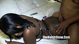 ferrari blaque pussy banged and nutted swallowed monster dick