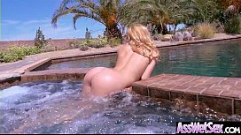 Alina West Superb Oiled Girl With Round Big Ass Get Analy Nailed clip