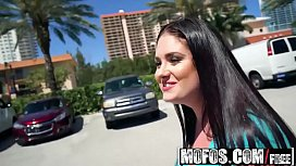 Mofos - Public Pick Ups - Busty Innocent Fucks for Cash starring  Lennox Luxe and Damon Dice sex image