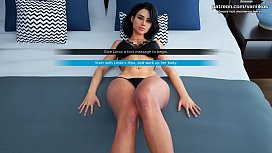 Touching stepmom'_s hot body of a gorgeous milf l My sexiest gameplay moments l Milfy City l Part #11