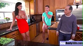 Hard Sex Tape With Lovely Big Tits Milf Reagan Foxx video