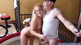 Pretty hot chick Kenzie Green wanting a huge cock