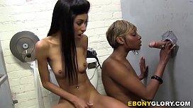 Rashae and Nadia Pariss - Gloryhole
