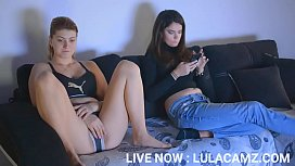 HOT BLONDE SEDUCES HER ROOMMATE   ▶ LIVE NOW : LULACAMZ.COM ↗↗↗ SUBSCRIBE TO MY XVIDEOS ACCOUNT