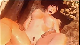 Ahri Chubby Korean Girl Gumiho Nine Tail Fox Wear Transformed Hanbok Hairy Tight Pussy Fucked By Horny Small Penis Monster Wolf Warwick In Jungle Get Pregnant