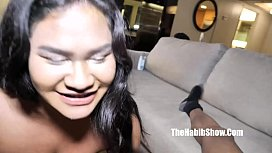 this asian teen freak rozey royalty swallowing bbc macana man ronnie hendrixx