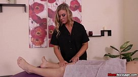 Teen Mean Masseuse