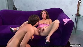 Milf, Liza Harper is having anal sex with a y. guy