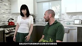 DaughterSwap - Teens (Daphne Dare) (Lana Sharapova) Fucking Each Others Horny Dad