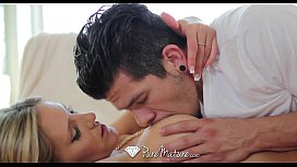 PureMature Stud explores every inch of Audrey Shows hot MILF body