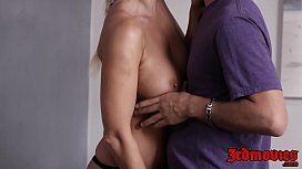 Insatiable MILF London River pleasuring younger meat