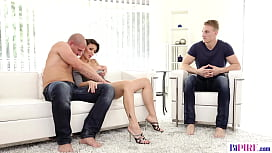 Czech milf and her bisex partners