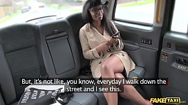 Fake Taxi high heels and sexy blowjob lips