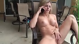 Cory Chase fucks Poolboy with Husband on the Phone