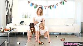 Twistys - Halftime Hustle - Cherie DeVille,Kristen Scott