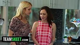 Threeway With Sarah Vandella and Lily Jordan Is Fucking Hot