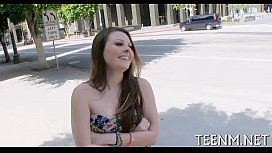 Money for teen cali hayes in exchange for oral pleasure