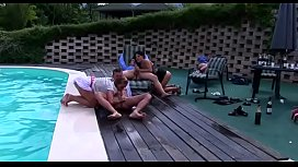 Group of super lewd youngsters make a joyous sex party