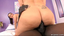 Double White Booty Anal