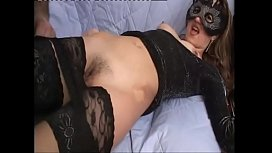 id 27950317: Sexy slut in black stockings fucked and filmed
