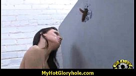 White girl have surprise gloryhole_BBC 3