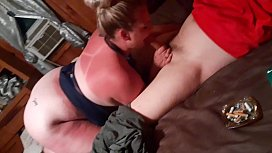 Husband lost bet with friend and fucks my wife