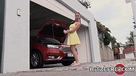 HITZEFREI German MILF Texas Patti Fucks A Young Stud