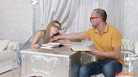 18videoz - Sonya Sweet - Nerdy teen has a sex fantasy