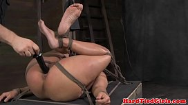 Tied up bdsm Penny Barber rough punish
