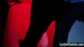 abigailjessa Lez Girl Get Sex Toy Dildo Punish By Mean Lesbian vid