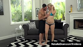 Cummed On Nympho Natalia Starr Gets A Water &amp_ Warm Sperm Bath!