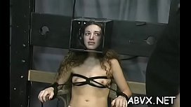 Seductive beauty is playing with her rubber sex-toy