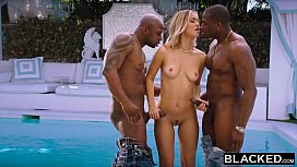 BLACKED She got two BBCs for the price of one