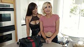 My friend's Mom has a secret life! - Reena Sky and Eliza Jane