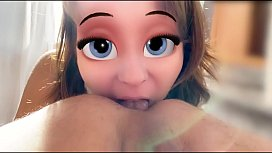 Anna From Frozen - Loves Deep Rimming
