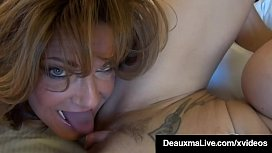 Dildo Drilling Cougars Deauxma &amp_ Brooke Tyler Cum For Each Other!