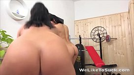Lexi Dona and Dafne Share One Hard Cock