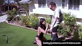 Mexican Hole In One! Gabby Quinteros Fucked In Her Hot Taco!