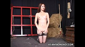 Two Asian bitches enjoy alone finger fucking time