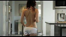 HD Fanta Veronica Radke sucks and fucks hard dick in the shower