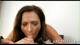 Sultry mom fucked by a sexy man