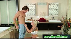 Nuru Slippery Massage And Sloppy Handjob 13